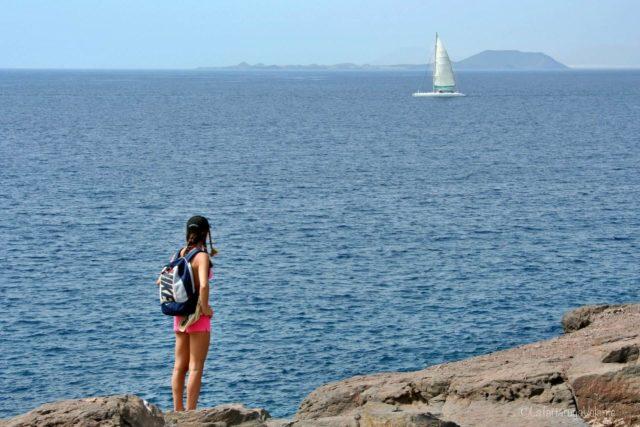 Lanzarote, io e la barca a vela