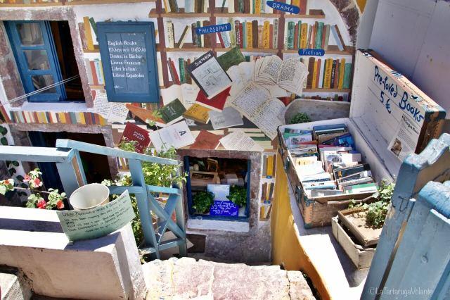 Santorini, libreria