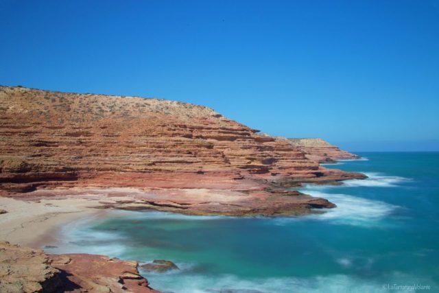 Kalbarri, la costa, le onde