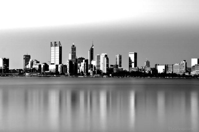 Perth in bianco e nero