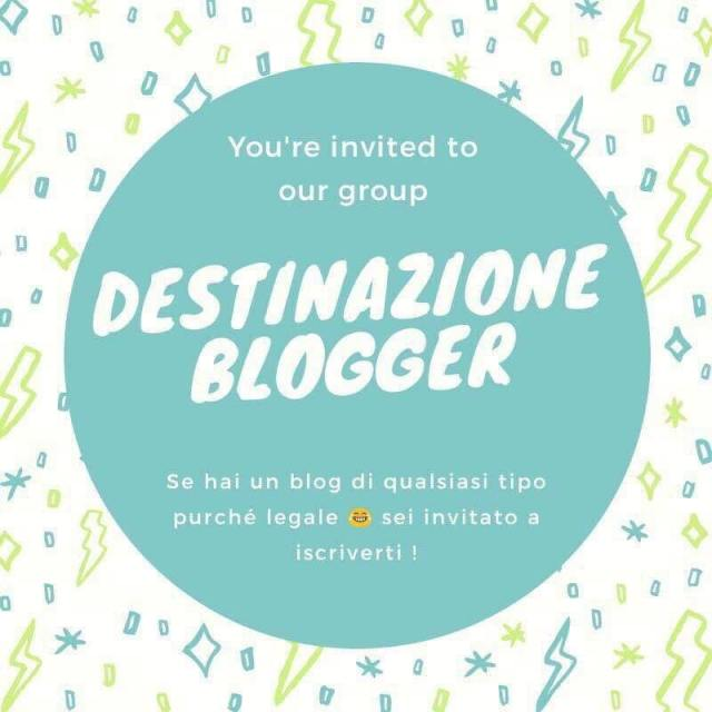 badge Destinazione Blogger