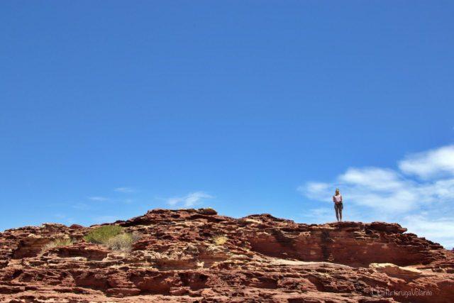 la roccia rossa di kalbarri