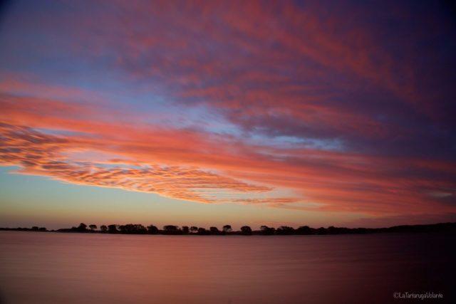 tramonto sul Murchison River