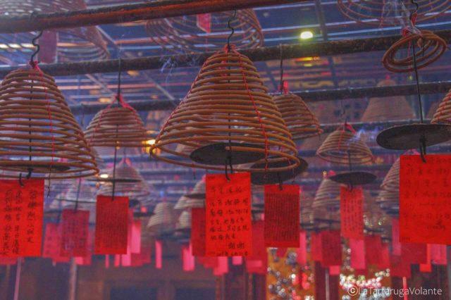 particolare del man mo temple