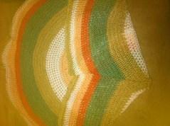 baby blanket - circle afghan