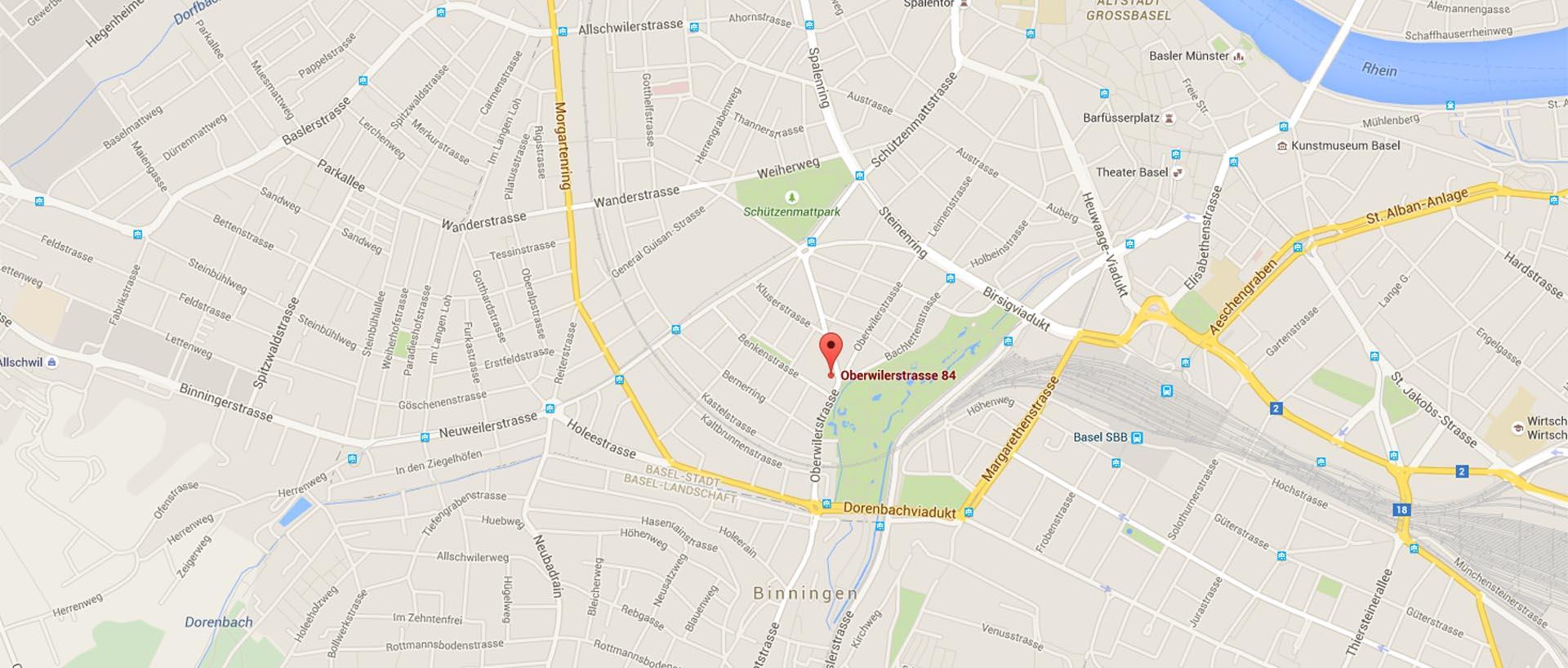 Oberwilerstrasse 84 - Google Maps