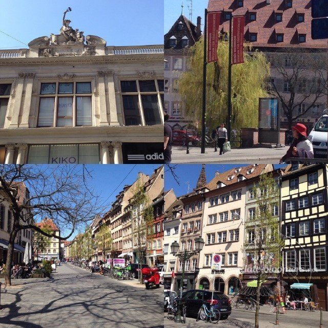 Strasbourg im April 2015