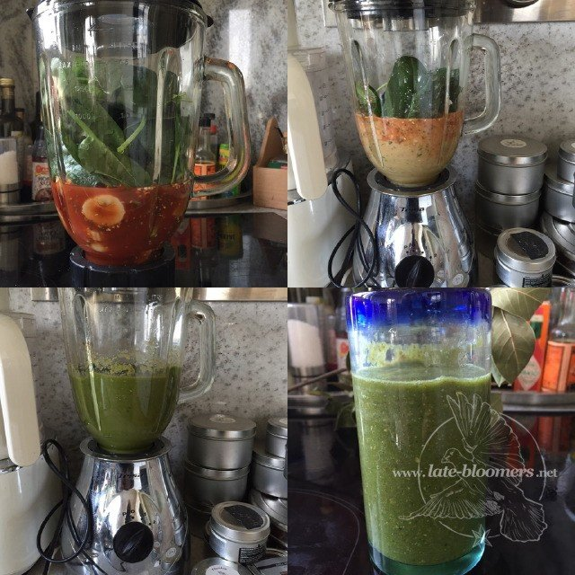 Late Bloomers green smoothies