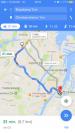 Eksempel på brug af Google Maps
