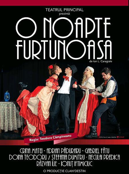 O noapte furtunoasa - Teatrul Principal - LaTeatru.EU