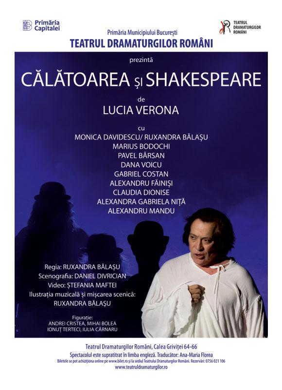 Calatoarea si Shakespeare – Teatrul Dramaturgilor Romani