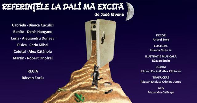 Referintele la Dali ma excita - Teatrul Arte dell'Anima