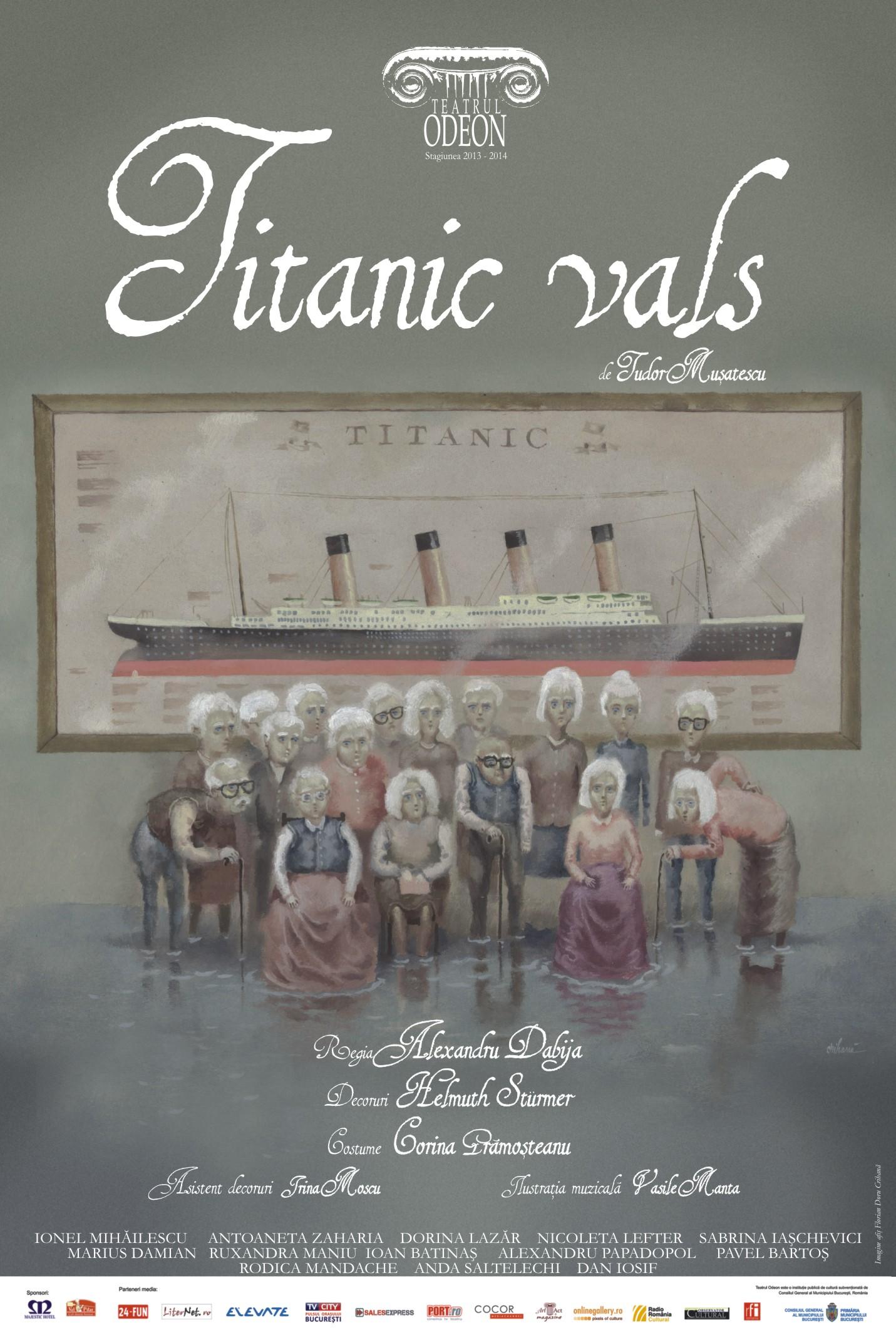 Titanic Vals – Teatrul Odeon
