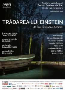 Tradarea lui Einstein Teatrul Evreiesc de Stat POSTER