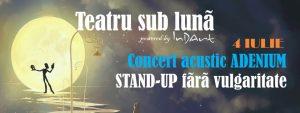 Stand up fara vulgaritate Marius Gheorghiu Teatru Sub Luna editia 7 2021