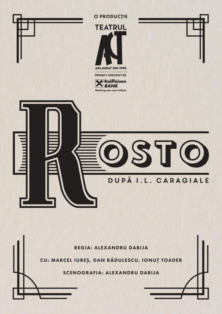 Rosto - Teatrul Act AFIS