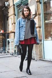 Skirt w/ leggings