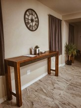 Rustic home decor table