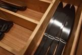 Black gun metal utensils