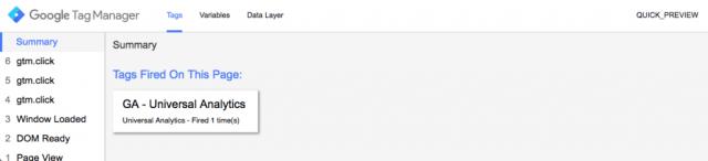 Mode Debug / Prévisionnage des tags sur Google Tag Manager