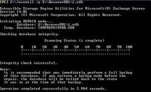exchange edb file repair