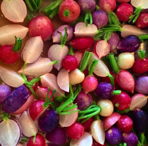 Roasted Easter Egg Radishes From #rootingdownfarms