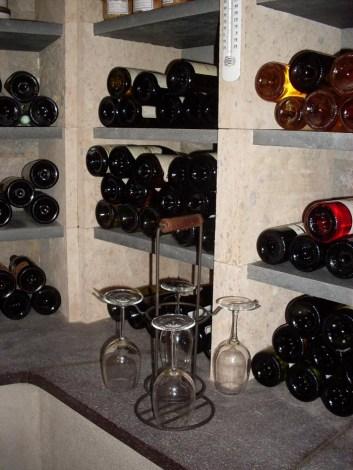 Création de cave à vin © L'ATELIER DE PIERRE Quimper