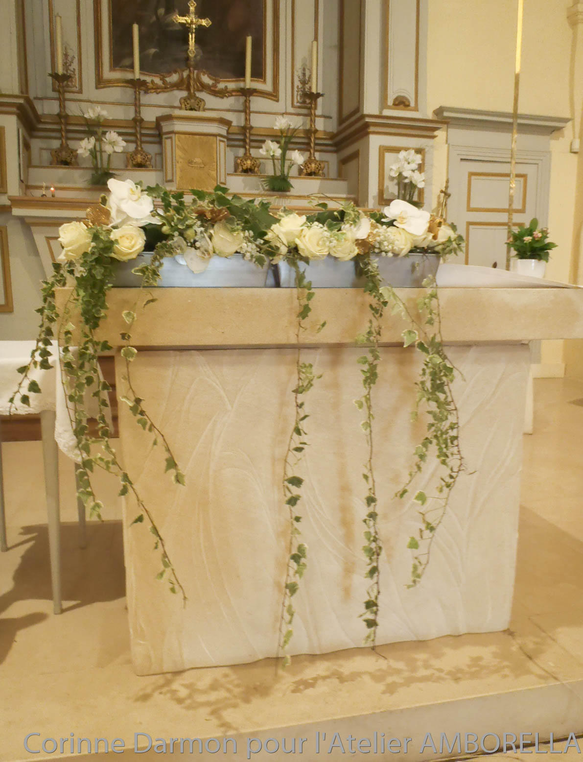 Eglises amborella by corinne - Decoration eglise mariage ...
