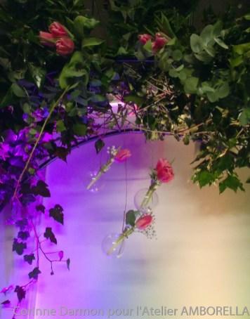 D coration de stand au salon du mariage de la porte de for Porte de versailles salon mariage