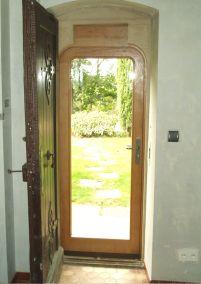 porte étanchéité bois sur mesure