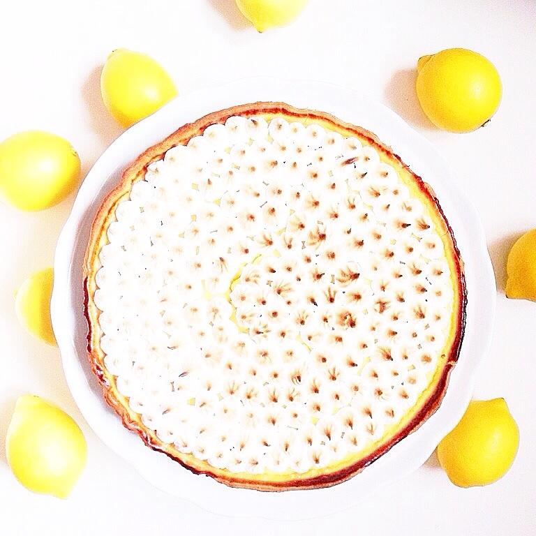 Recette Tarte aux citrons meringuée Latelierdal blog mode voyage food