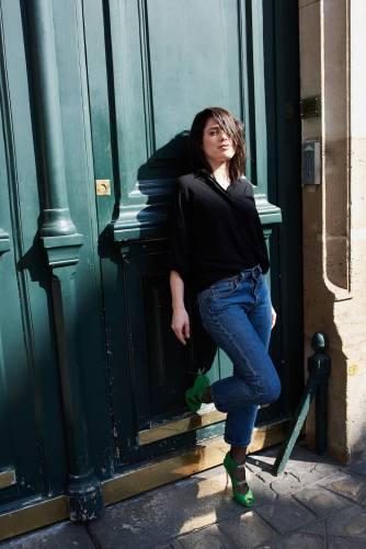 Look Bettina Vermillon L'atelier d'al blog mode lifestyle Paris