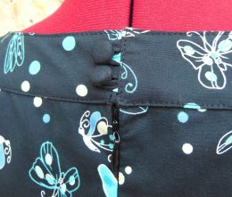 Robe vintage papillons