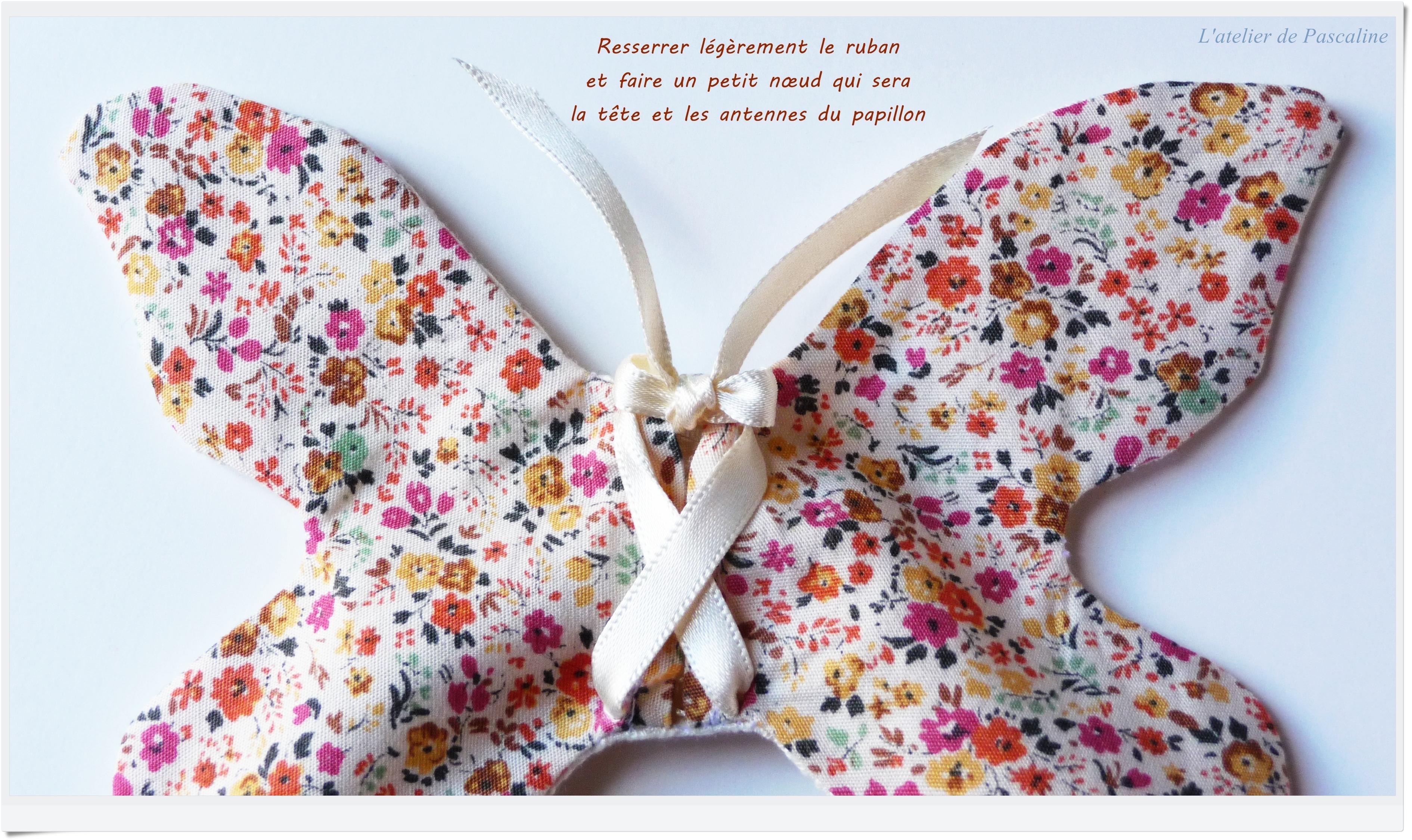 Tuto Des Sachets Papillons En Tissus LAtelier De
