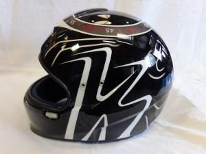 [L'atelier De So] Peinture personnalisée sur casque de karting