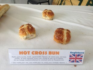 United Kingdom: (pretty sad looking) Hot cross buns