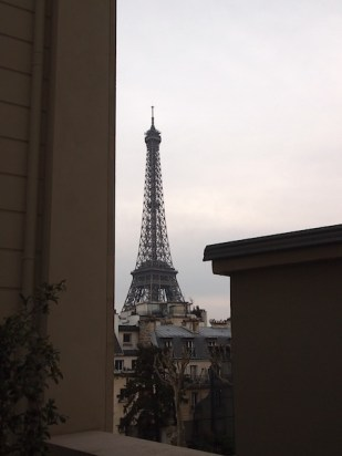 The view from the terrace