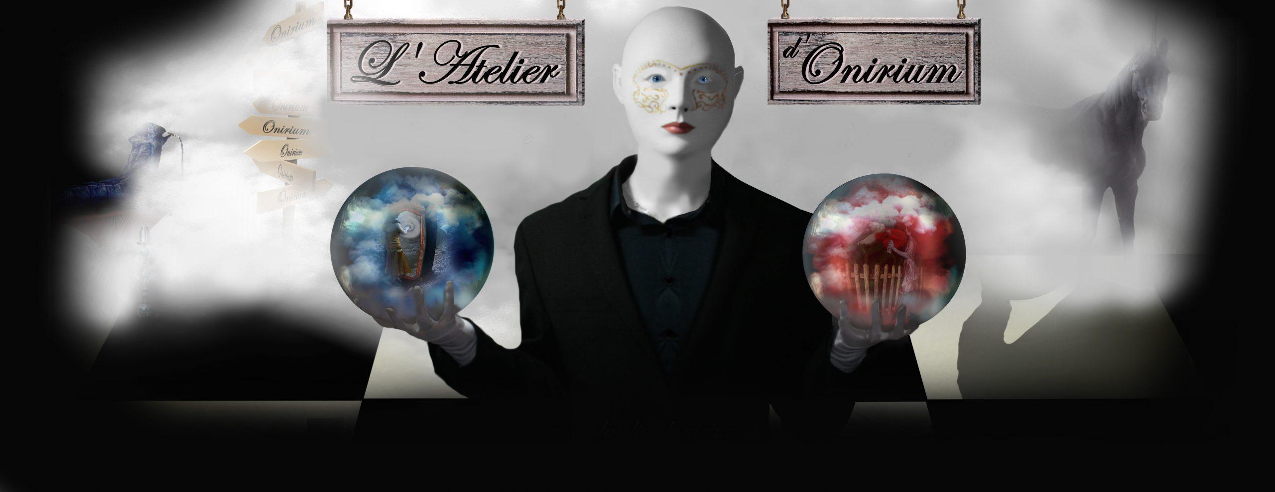 personnage fantastique choix boules cristal fumée licorne