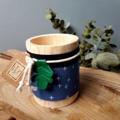 Pot crayons artisanal étoile Skomo light