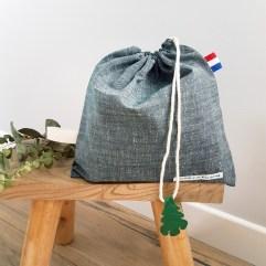 sac linge maternelle lin Genova