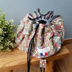sac piscine maillot fleurs