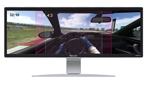Ostendo CRVD 43-Inch Curved Monitor
