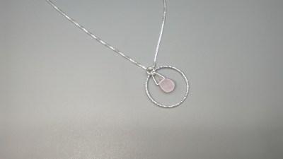 Pendiente Aro Diamantado