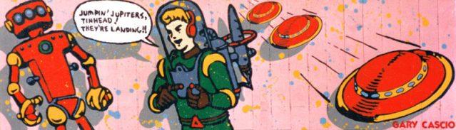 Jumpin' Jupiters, Tinhead! They're Landing!! billboard
