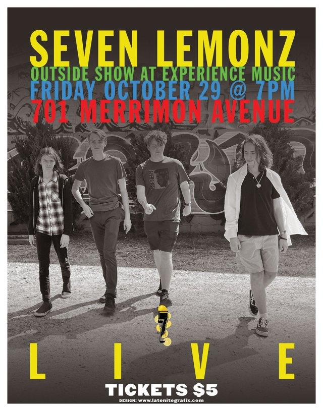 Seven Lemonz Live
