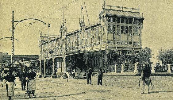 la terraza sada antigua