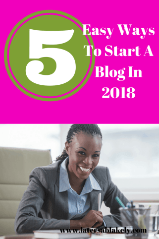 Blogging made easy in five ways