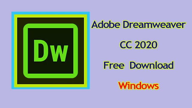 Adobe-Dreamweaver-CC-2020-free-download