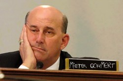Texas Congressman Louie Gohmert, genius at work
