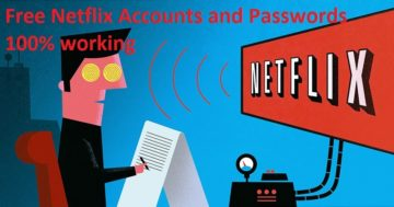 free Netflix accounts and Passwords 2019 100 % working.